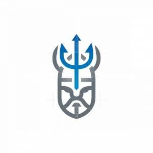 Trident Warrior Logo
