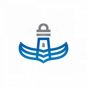 Wings Winged Beacon Logo