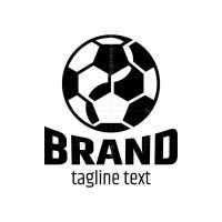 Yin Yang Football Logo