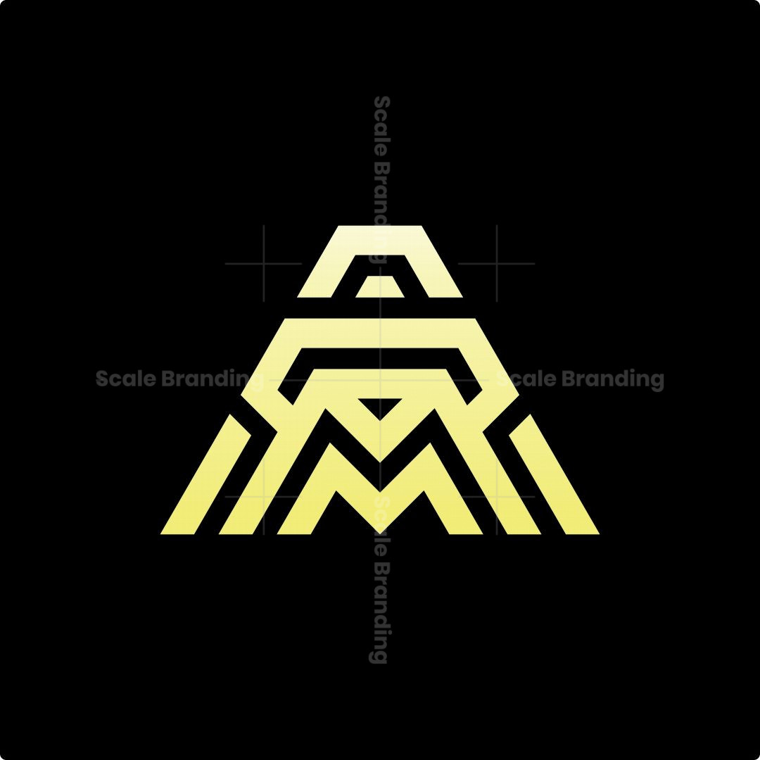 Am Diamond Monogram Logo