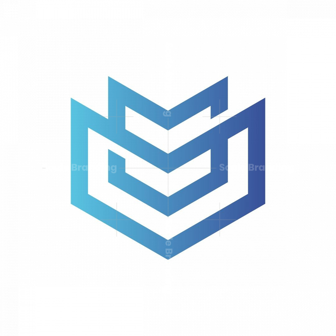 Abstract Shield Logo