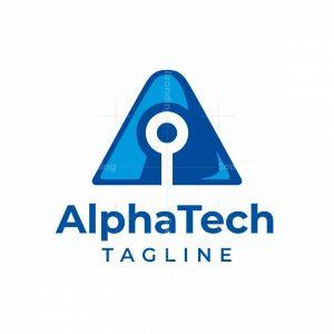 Alpha Tech A Letter Logo