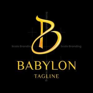 Babylon Letter B Logo