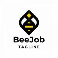 Bee Job Logo