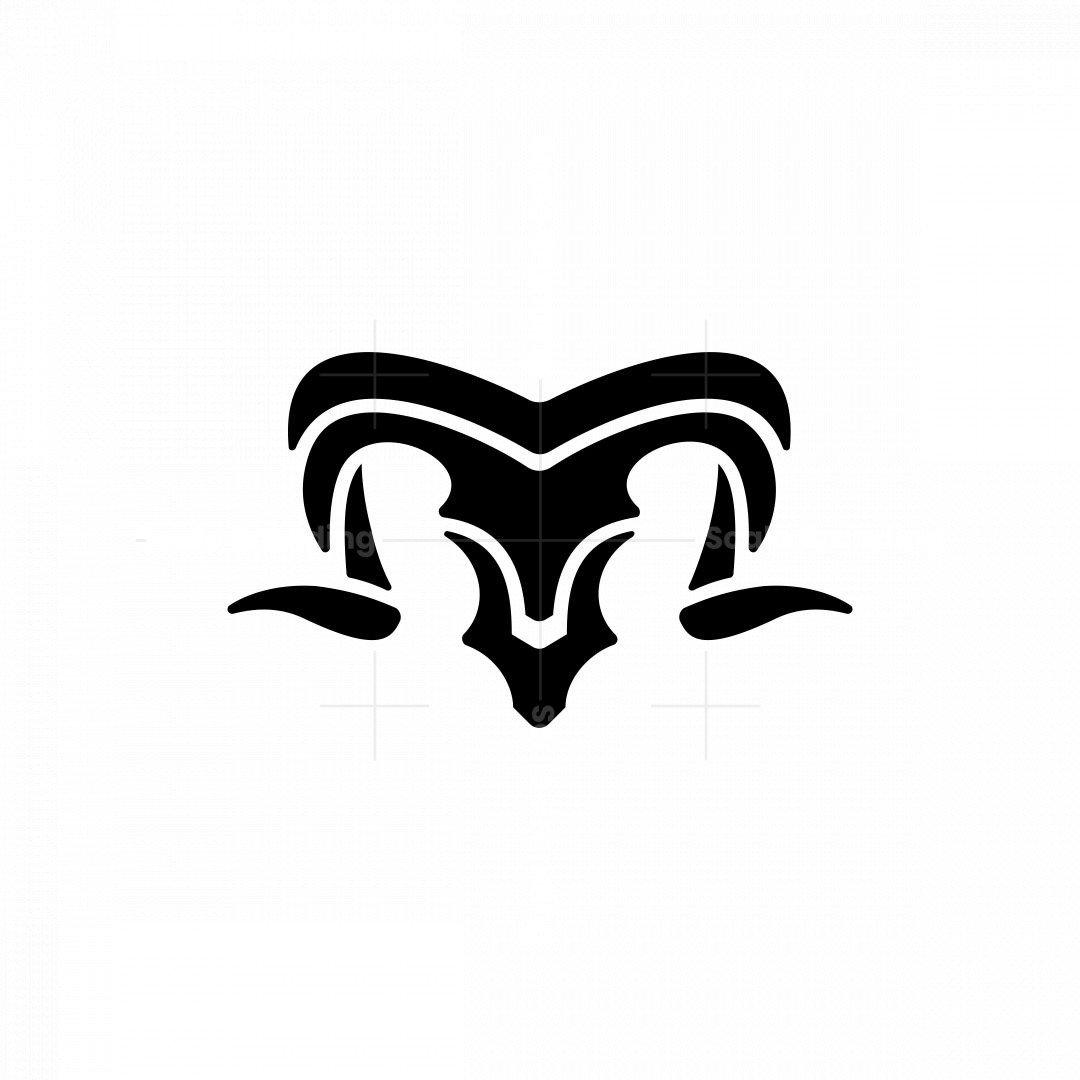 Black Ram Mark Logo