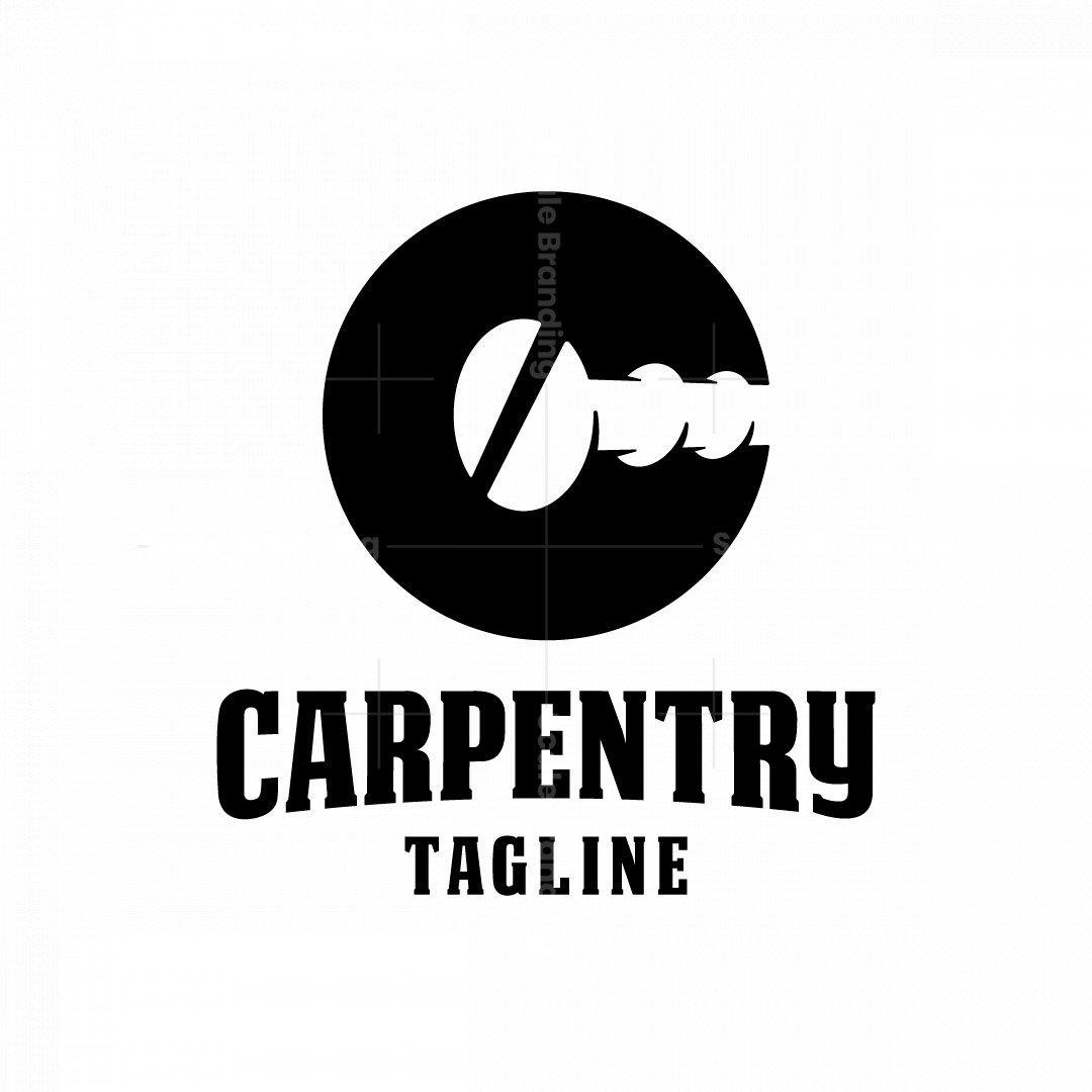 Carpentry C Letter Logo