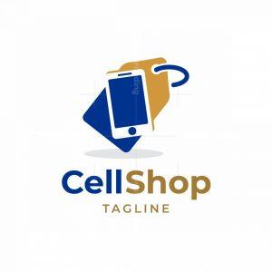 Cell Shop Logo