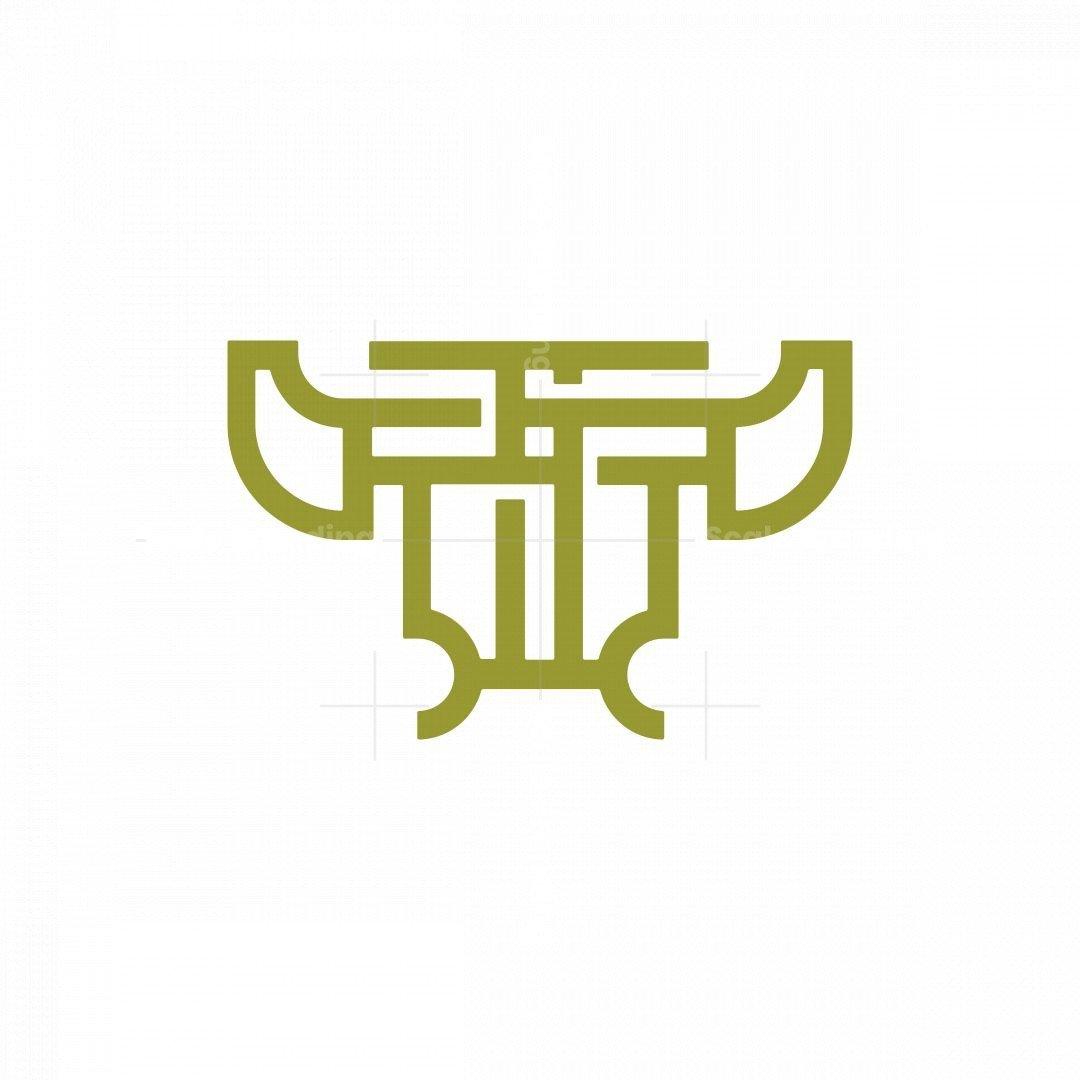 Celtic Knot Bull Logo