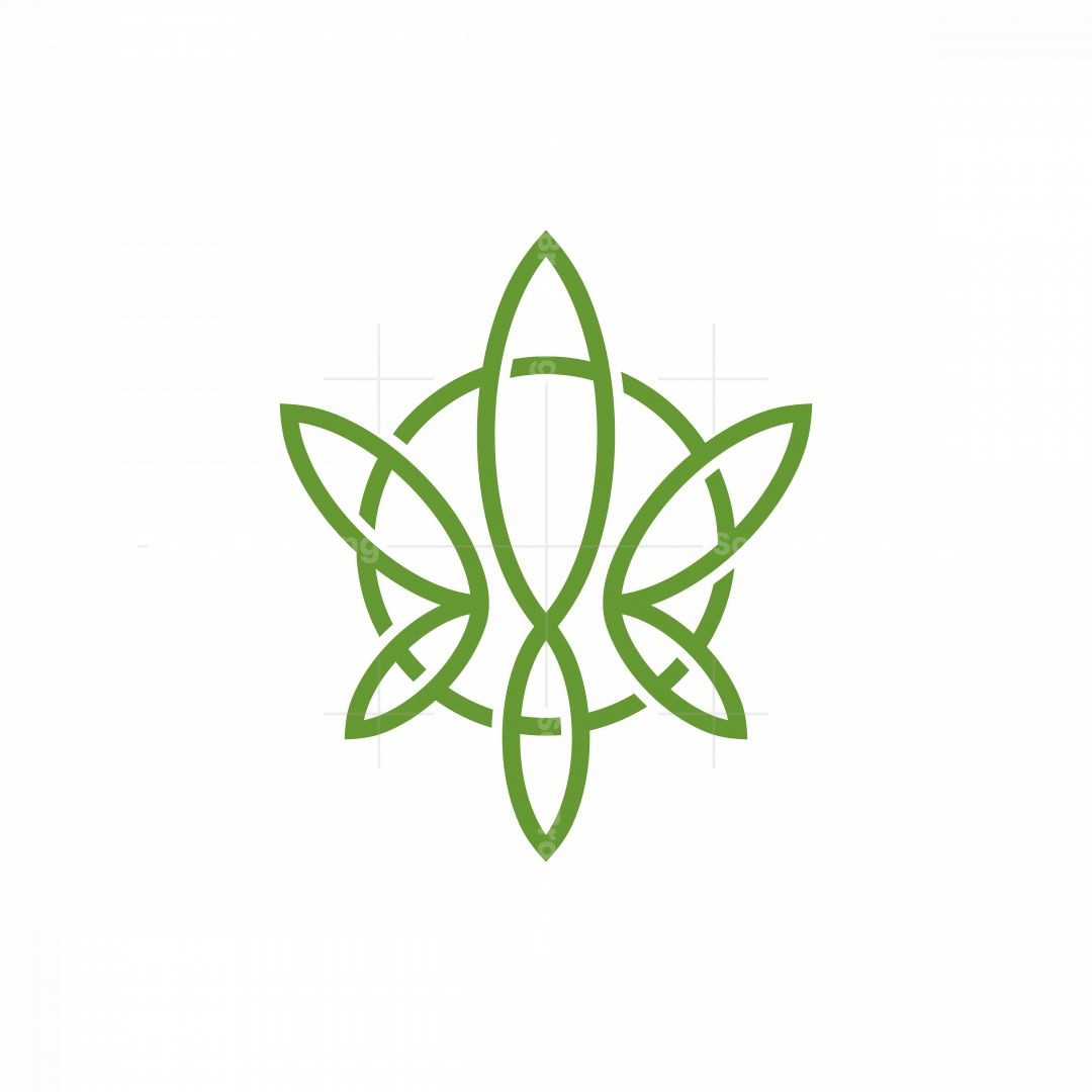 Circle And Cannabis Logo