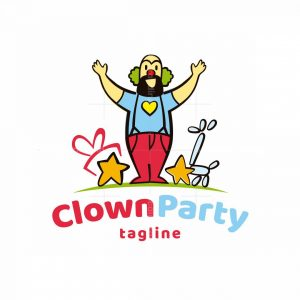 Clown Party Logo