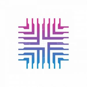 Cool Processor Logo