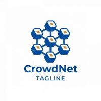 Crowd Net Logo