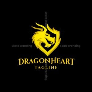 Dragon Heart Logo