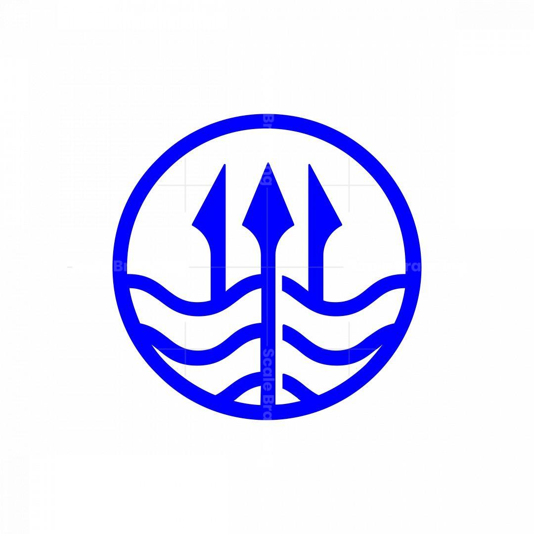 Drown Trident Logo