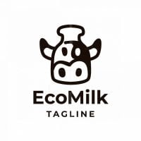 Eco Milk Logo