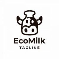Eco Milk Logo