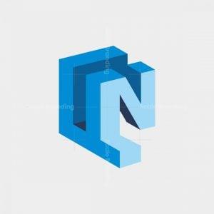 Fn 3d Initial Logo