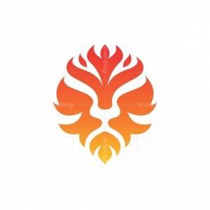 Fire Lion Logo
