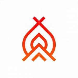 Firecamp Mark Logo