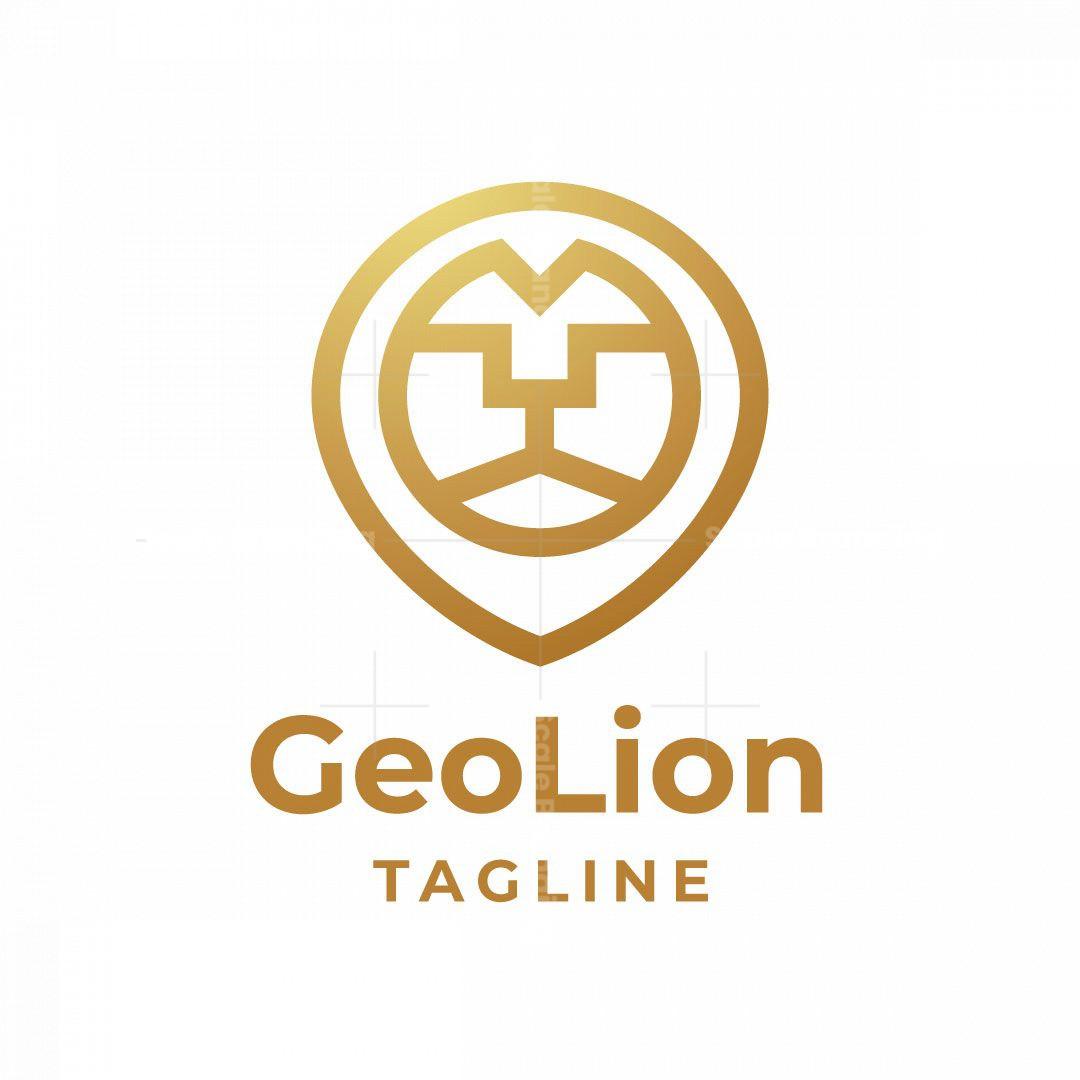 Geo Lion Logo