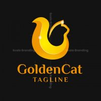 Golden Cat Logo