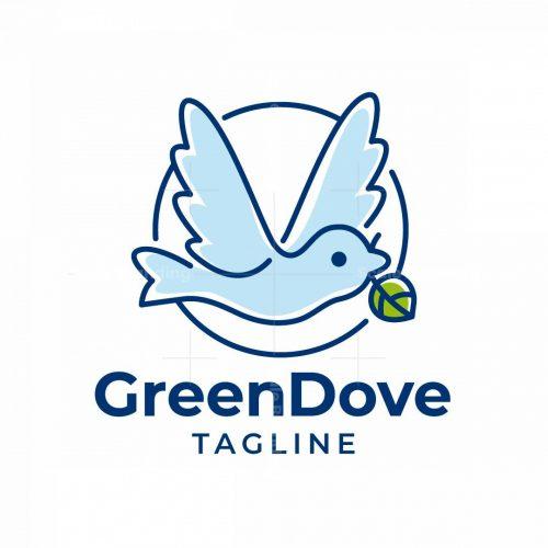 Green Dove Logo