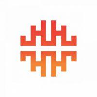 Letter H Higher Logo