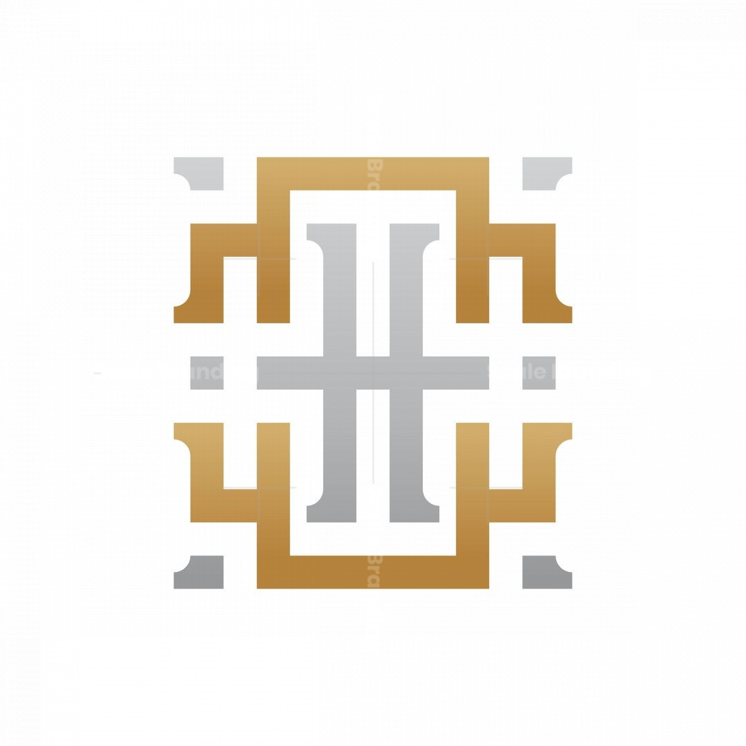 Monogram Letter H Royal Logo