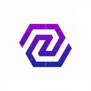 Hexagon Z Monogram Logo
