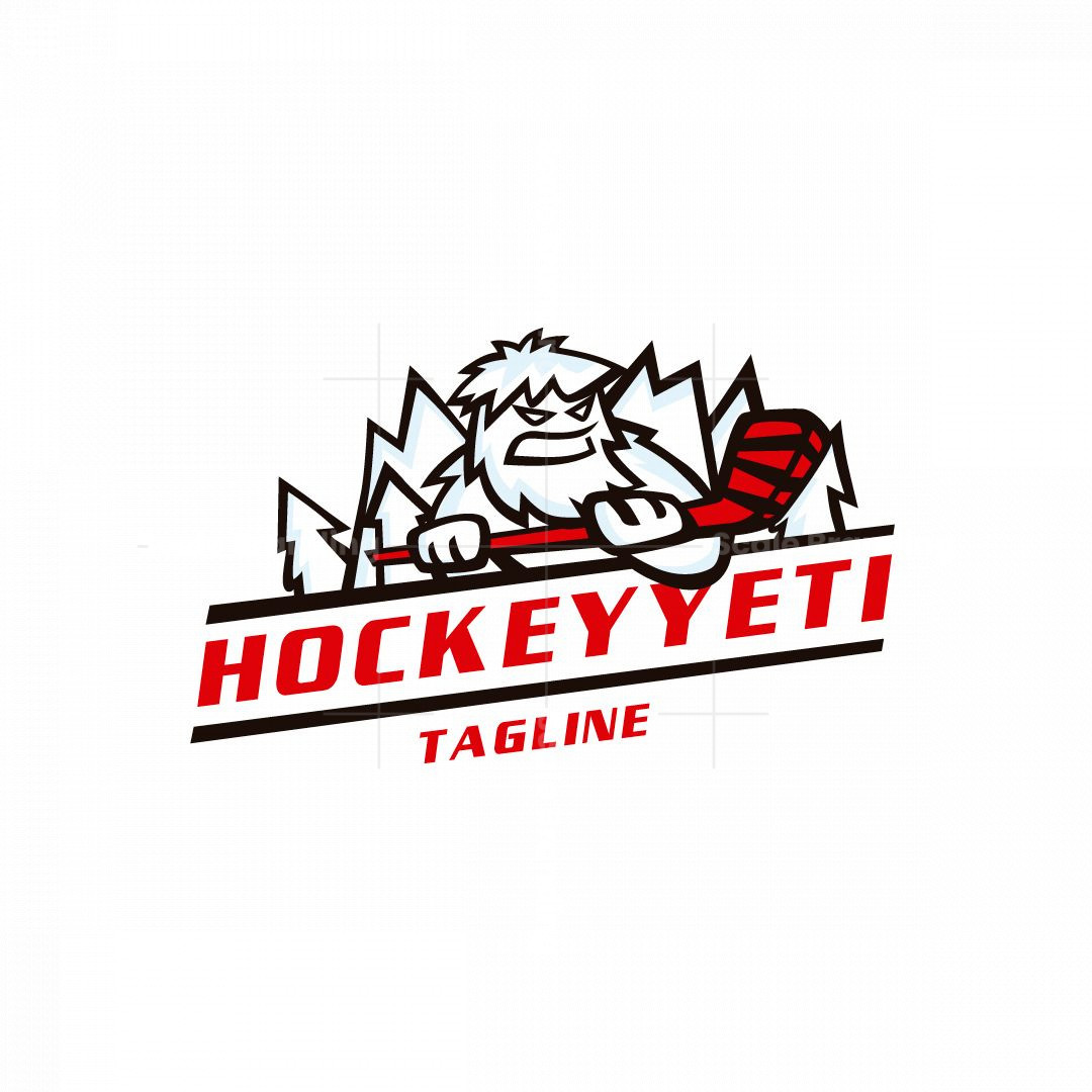 Hockey Yeti Logo