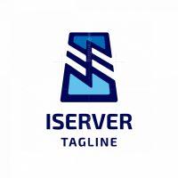 I Server I Letter Logo