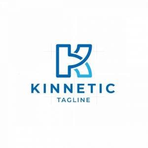 Kinnetic K Letter Logo