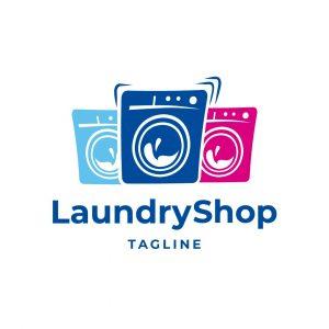 Laundry Shop Logo