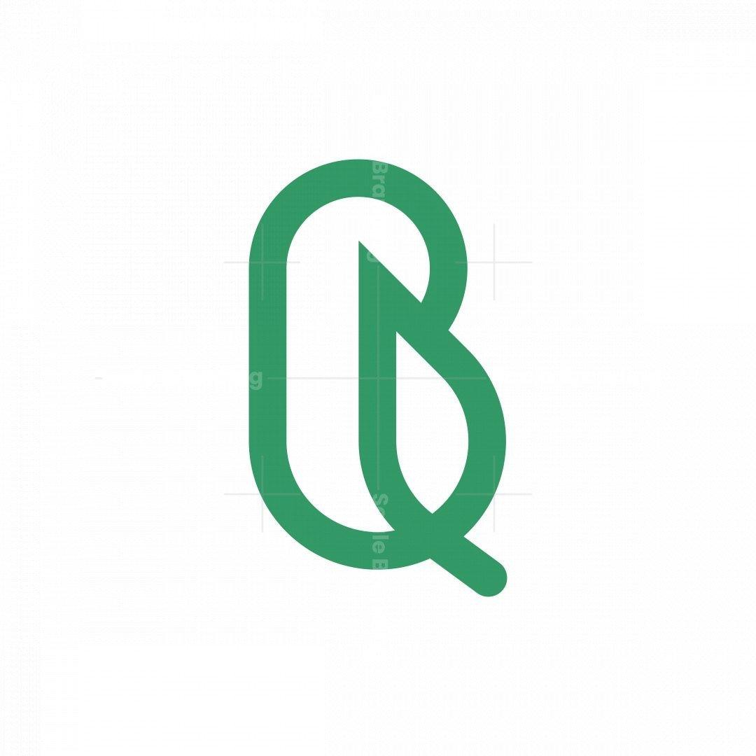 Letter B Leaf Monogram Logo
