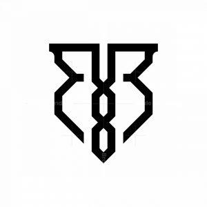 Letter Bb Monogram