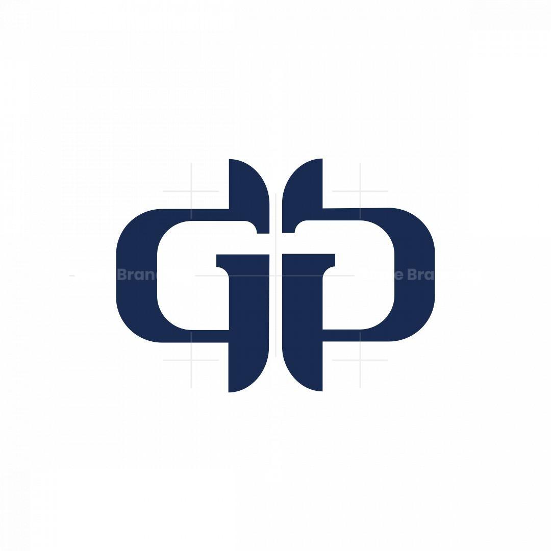 Letter Gg Monogram Logo.