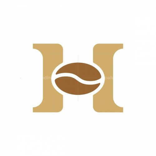 Letter H Coffee Logo