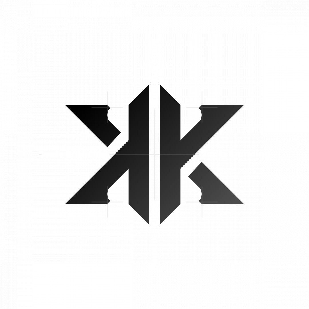 Letter Kk Monogram Logo