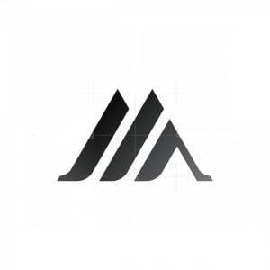 Letter M Luxury Monogram Logo