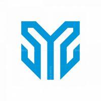 Letter M Monogram Logo