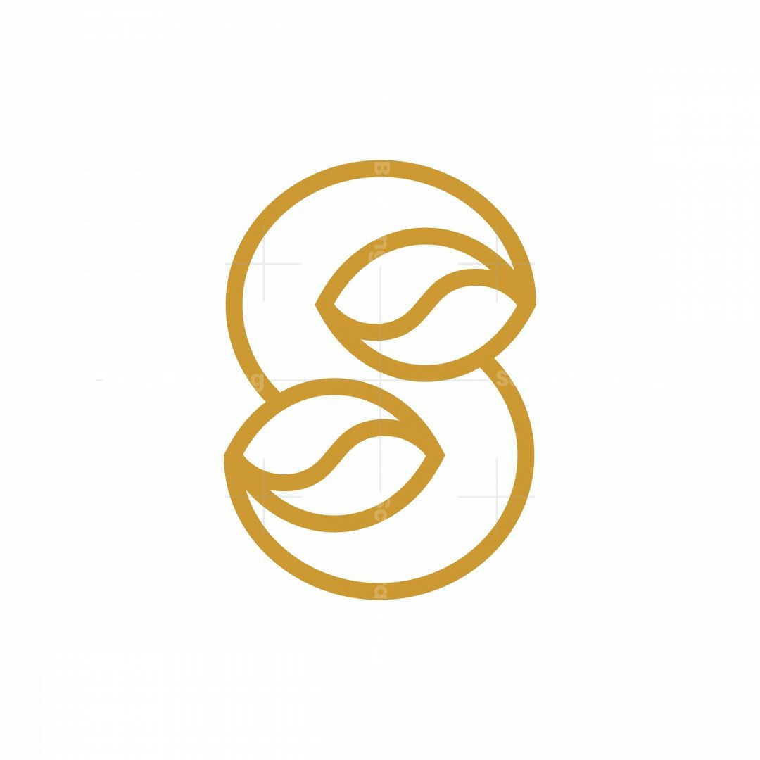 Letter S Coffee Logo