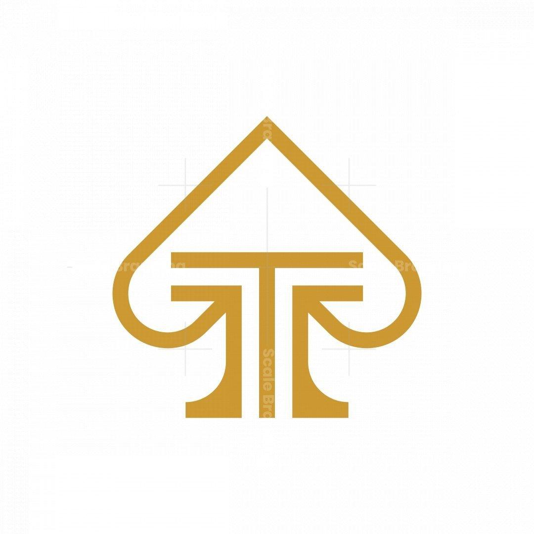 Letter T Ace Logo