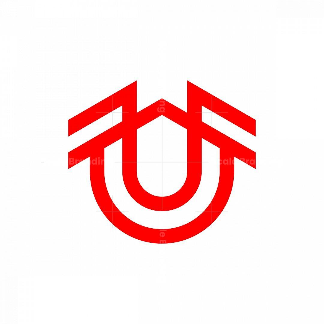 Letter U Monogram Logo