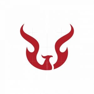 Letter U Phoenix Logo
