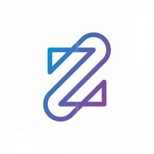 Letter Z Monoline Logo