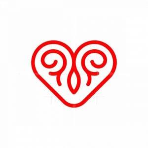 Love Ornament Logo