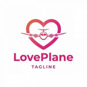 Love Plane Logo