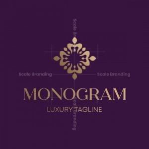 Luxury Monogram Jewellery Logo