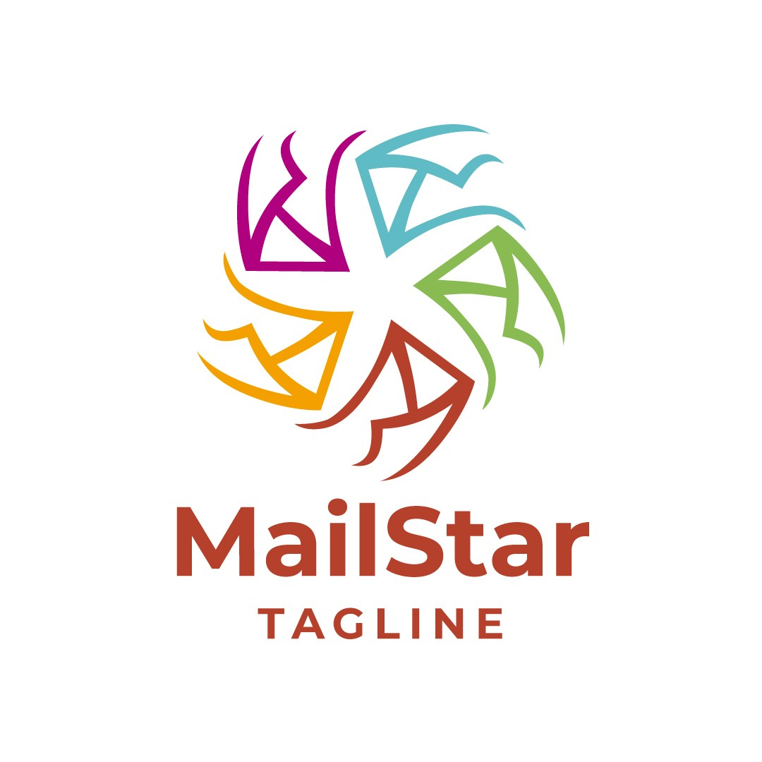 Mail Star Logo