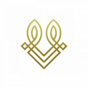 Minimalist Rabbit Head Logo